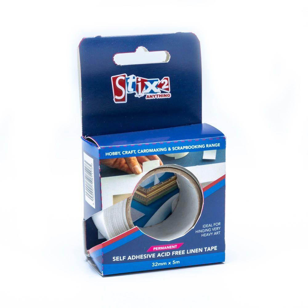 Stix2 Self Adhesive Linen Tape