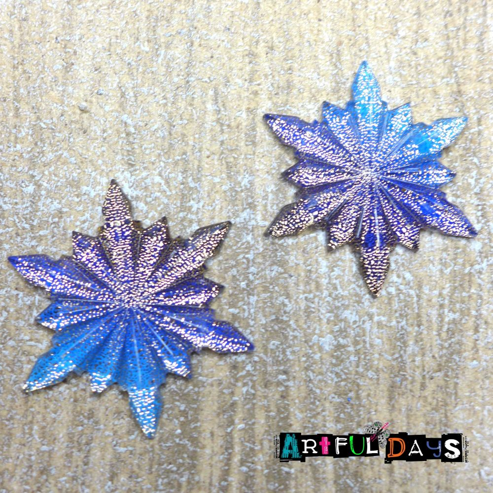 Large Sparkly Christmas Star Cabochons