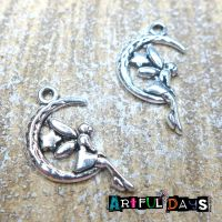 Silver Moon Fairy Charms (C157)