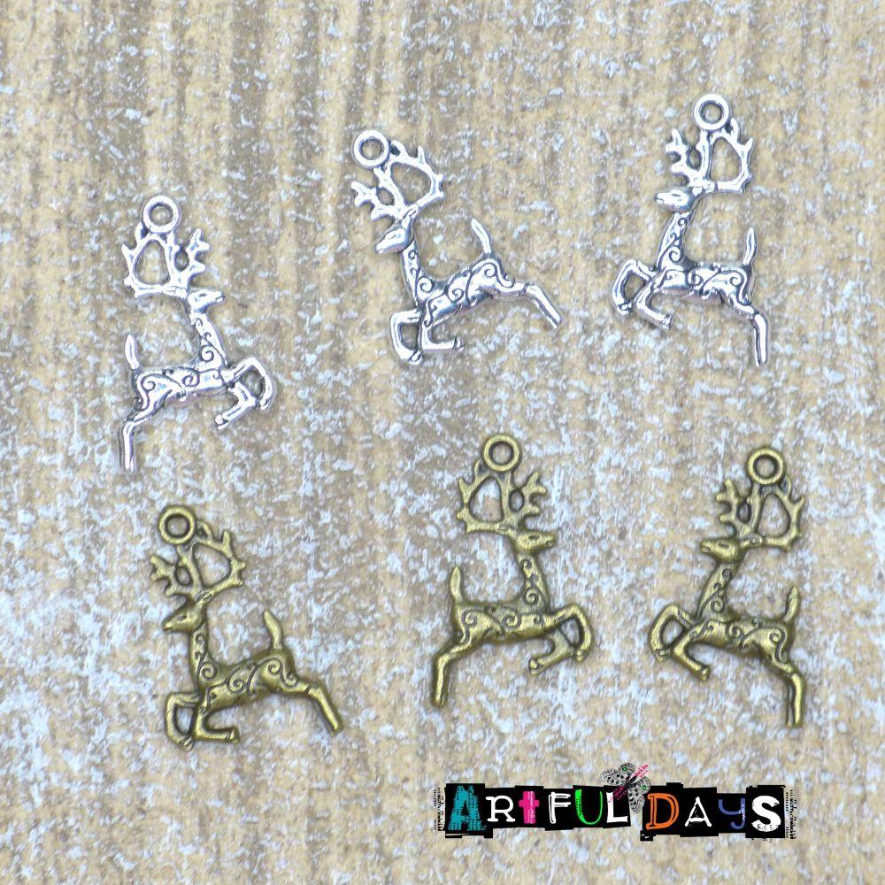 Ornate Vintage Bronze Swirls (C045)