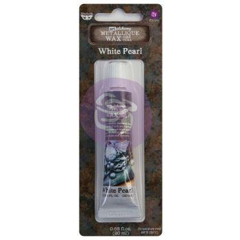 Finnabair Art Alchemy Metallique Wax -  White Pearl
