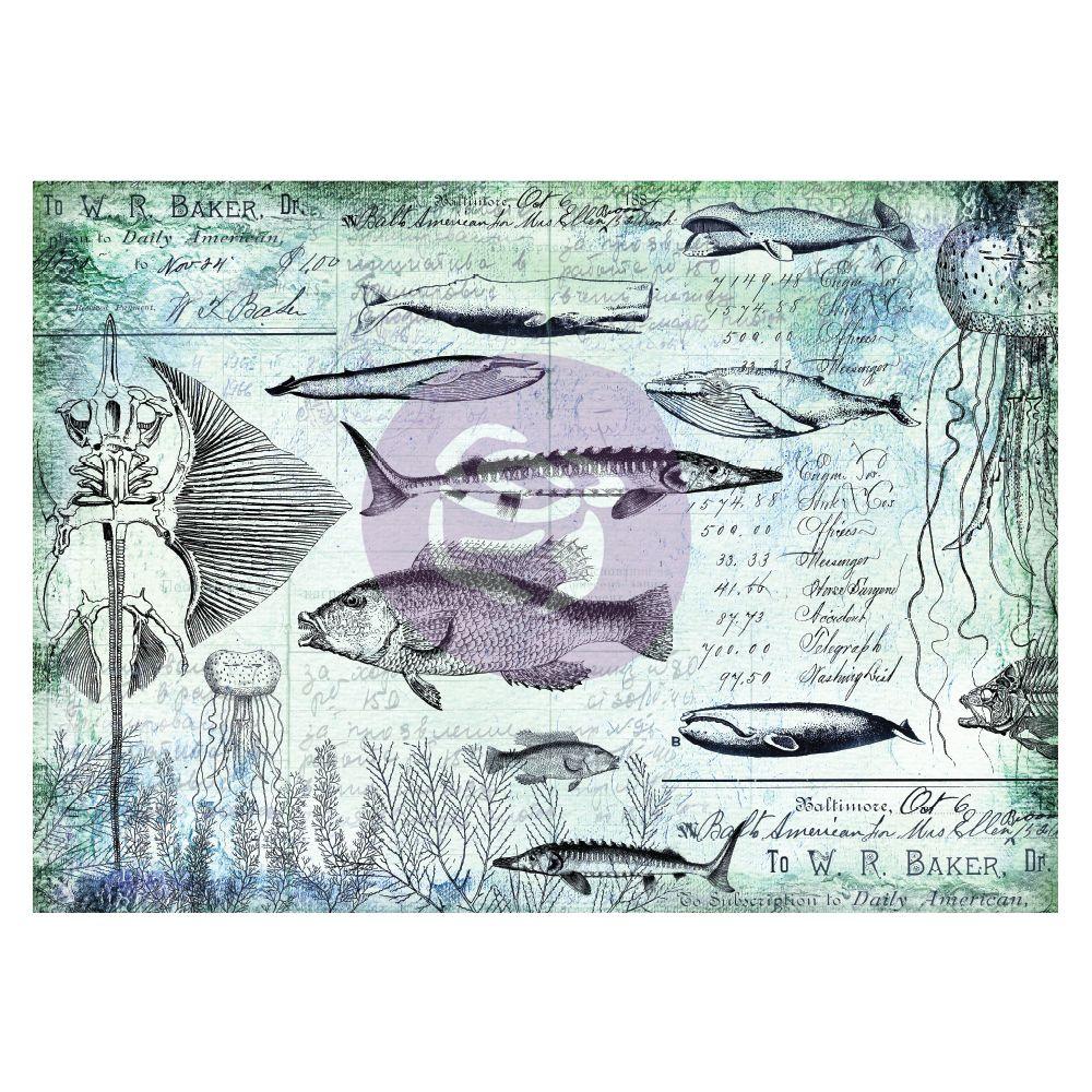 a. PRE-ORDER EXPECTED END NOV - Finnabair Decorative Paper - Nautical