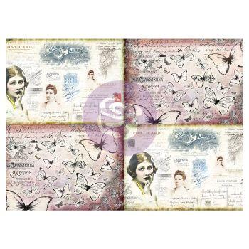 Prima Finnabair Art Daily Decorative Papers Journaling Minis - Ladies world