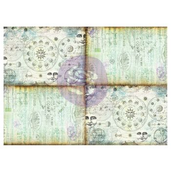 Prima Finnabair Art Daily Decorative Papers Journaling Minis - Celestial Music