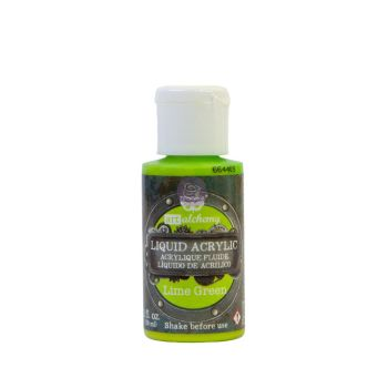 Prima Marketing Art Alchemy Liquid Acrylic Paint - Lime Green