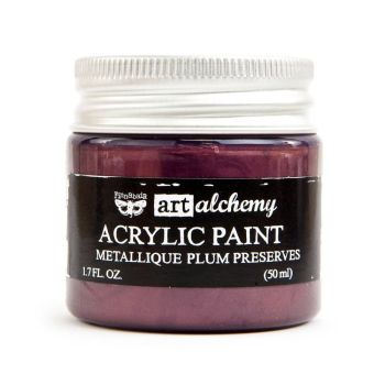 Prima Art Alchemy Acrylic Paint - Metallique Plum Preserves (964498)