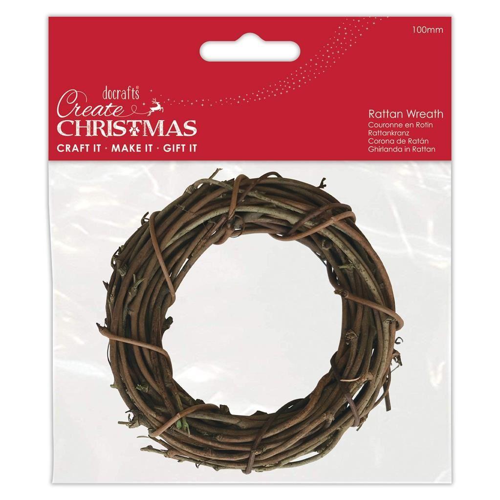 Papermania Rattan Wreath 100mm (PMA 174462)