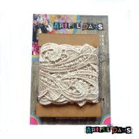 Luxury Trims ~ Crochet Lace Vintage Cream 1 Meter