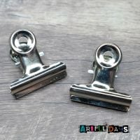 Silver Metal Clips (C167)