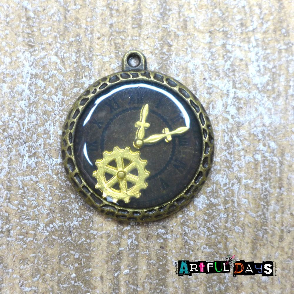 Steampunk Clock Face (C057)