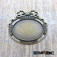 Bronze Bow frame/Setting (C121)