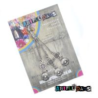 Treasured Artefacts - Silver Circle Dangle Charm (TA226)