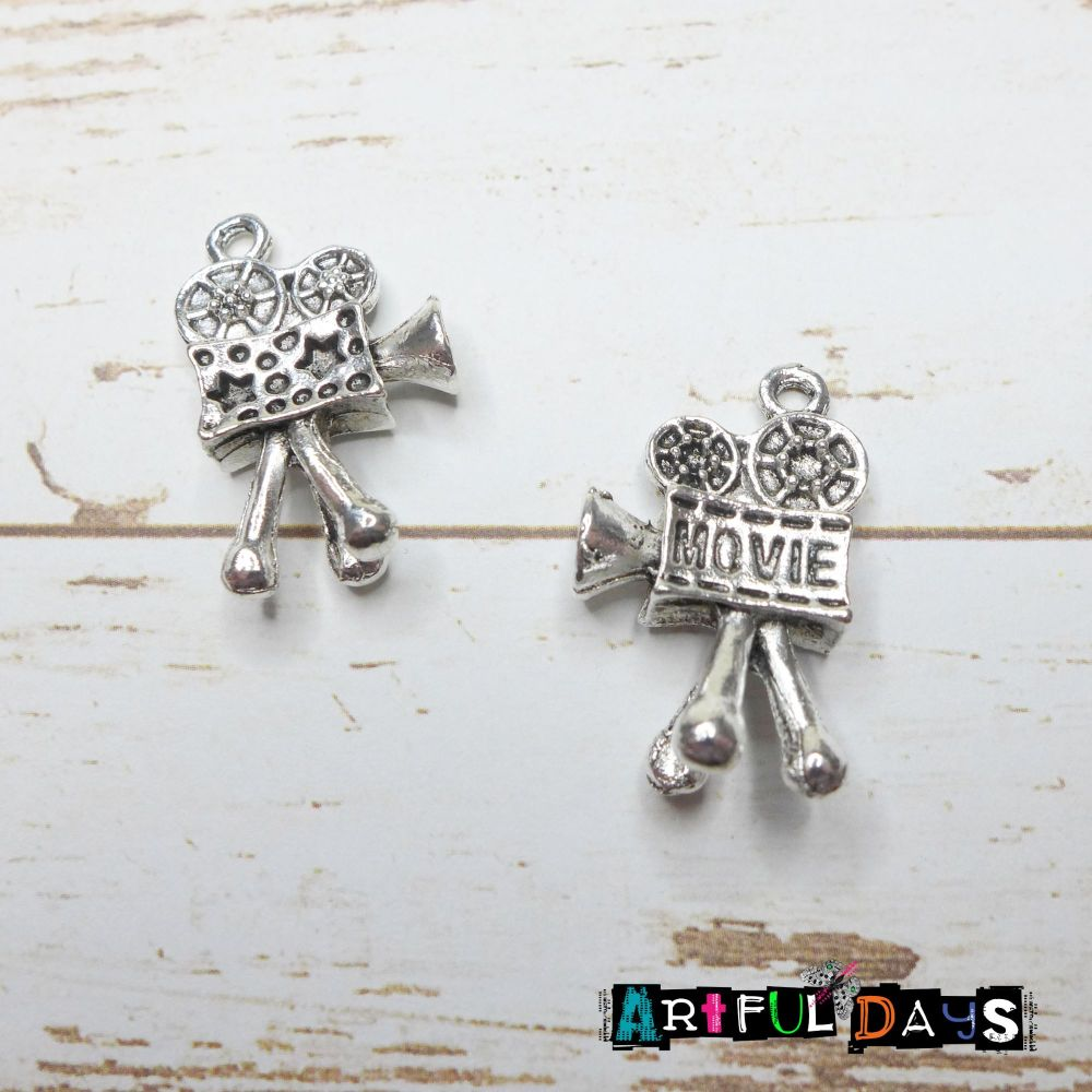 Silver Film Camera Charms (C008)