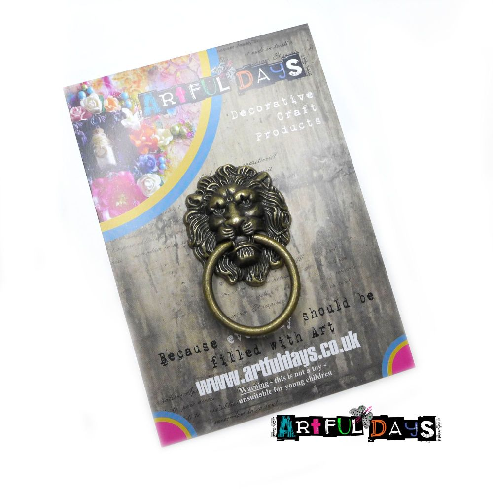 Treasured Artefacts - Large Lion Door Knocker (TA217)