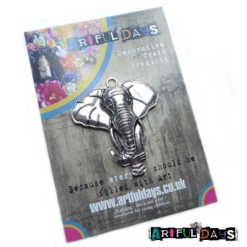 Treasured Artefacts - Large Silver Elephant (TA224)