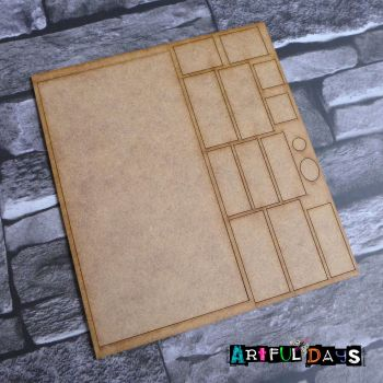 Artful Days MDF - House, Large 6 Panel Door (ADM056)