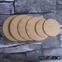 Artful Days MDF - Set of 6 Circles (ADM056)