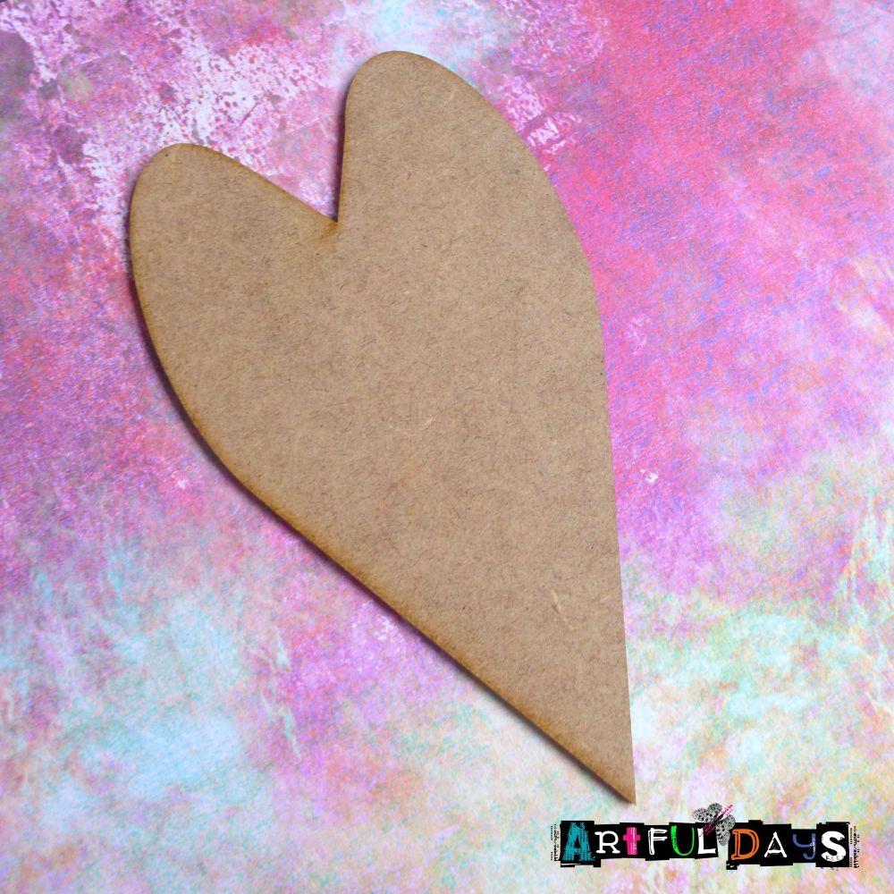 Artful Days MDF - Love, Long Heart (ADM064)