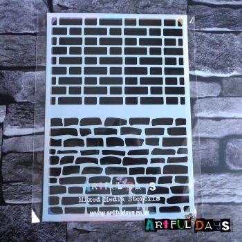 Artful Days A5 Stencils - House Bricks (ADS010)