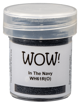 WOW Embossing Powder Primary - WH61 In The Navy