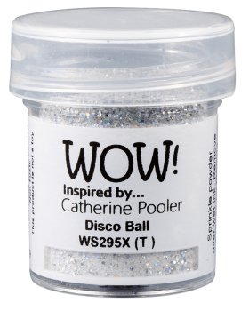 WOW Embossing Glitter - WS295 Disco Ball*Catherine Pooler*