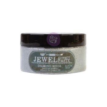 Prima Finnabair Art Extravagance  -Jewel Texture Paste - Diamond Rings