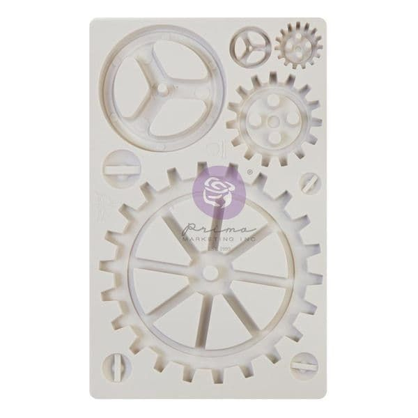 A Pre-order for NEW RELEASE - Prima Finnabair Moulds - Large Gears