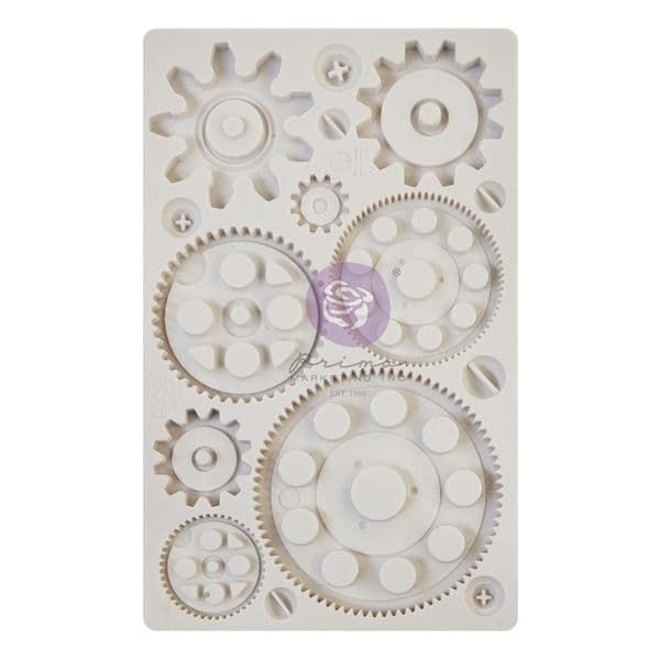 A Pre-order for NEW RELEASE - Prima Finnabair Moulds - Machine Parts