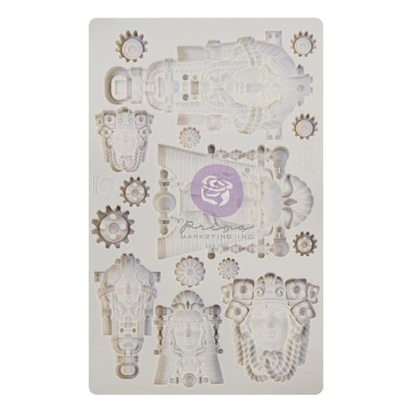 A Pre-order for NEW RELEASE - Prima Finnabair Moulds - Queens of Steam