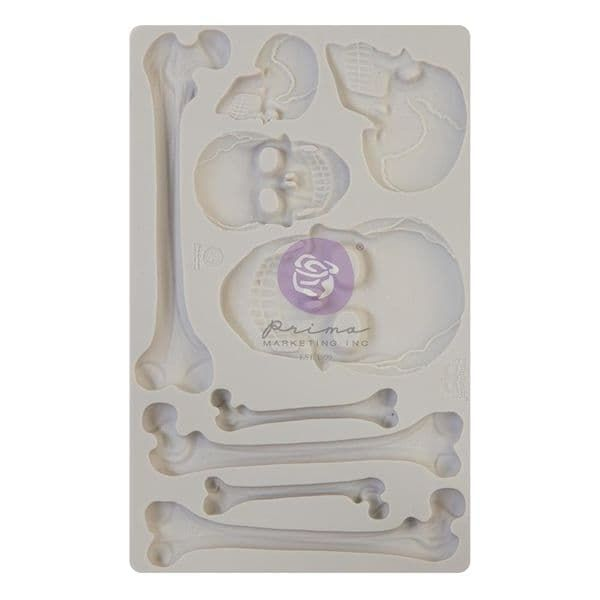 A Pre-order for NEW RELEASE - Prima Finnabair Moulds - Skull & Bones
