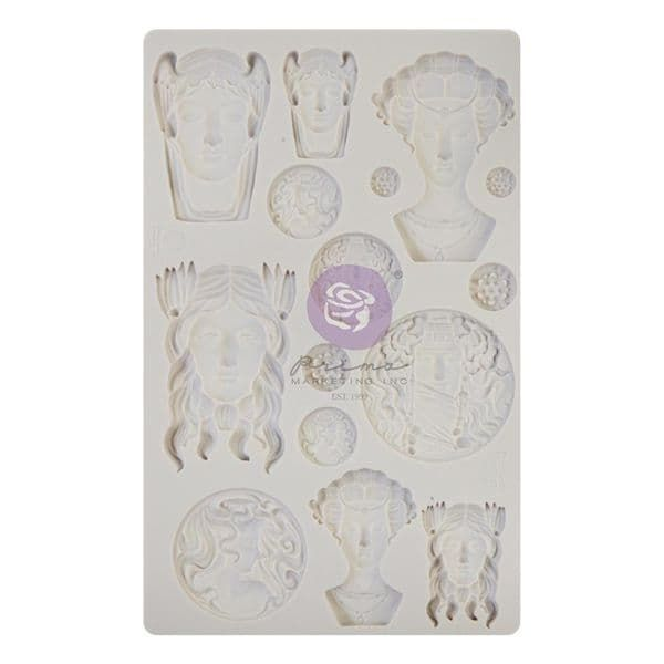 A Pre-order for NEW RELEASE - Prima Finnabair Moulds - Vintage Portraits