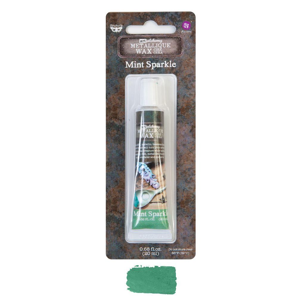 Prima Marketing Art Alchemy Metallique Wax - Mint Sparkle