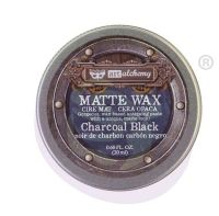 Prima Finnabair Art Alchemy - Matte Wax - Charcoal Black (Tin)