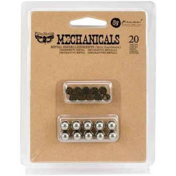 Prima Finnabair Mechanicals - Mini Hardware