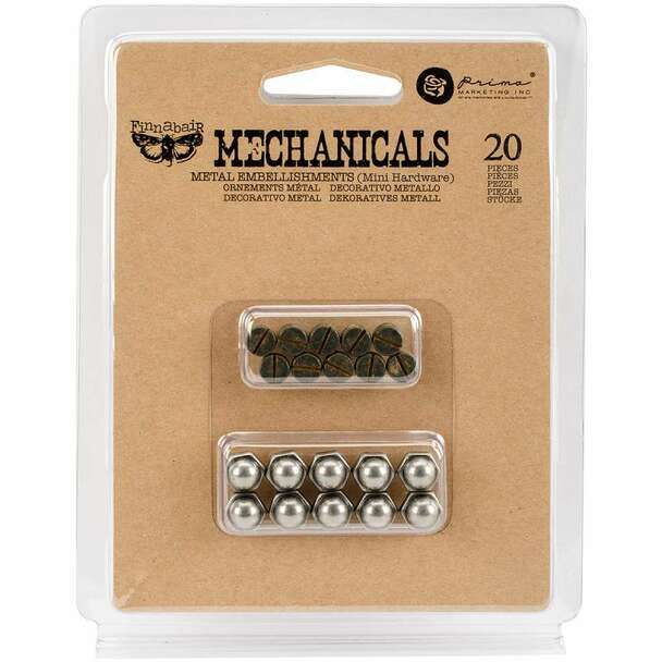 Prima Finnabair Mechanicals - Mini Hardware