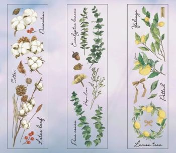 Woodland Boarder Stickers  (PA027)