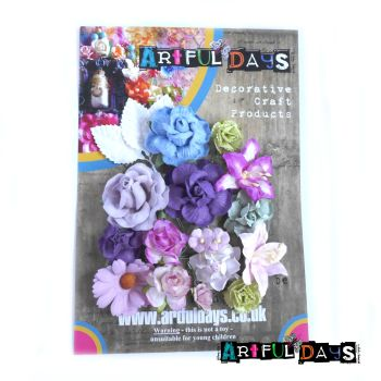 Spring Blooms - Mulberry Paper Flowers Set 1