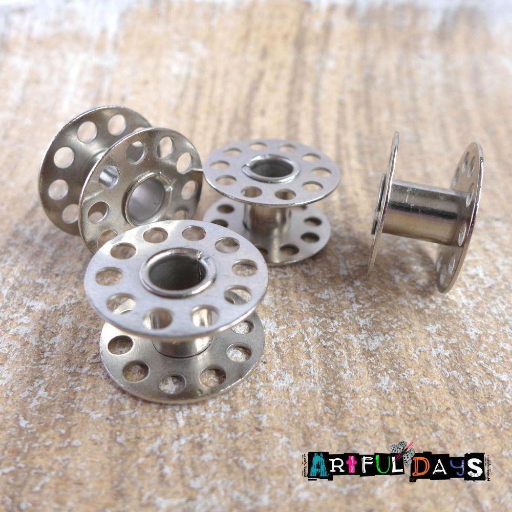 Sewing Metal Bobbin Reels in (C139)