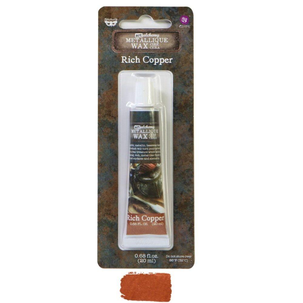 Prima Marketing Art Alchemy Metallique Wax -  Rich Copper