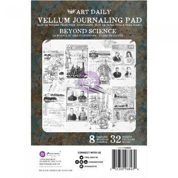 Prima Finnabair Art Daily Vellum Journaling Pad - Beyond Science