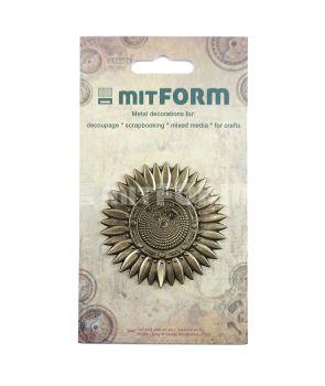 Mitform Flowers 3 Metal Embellishments (MITS060)