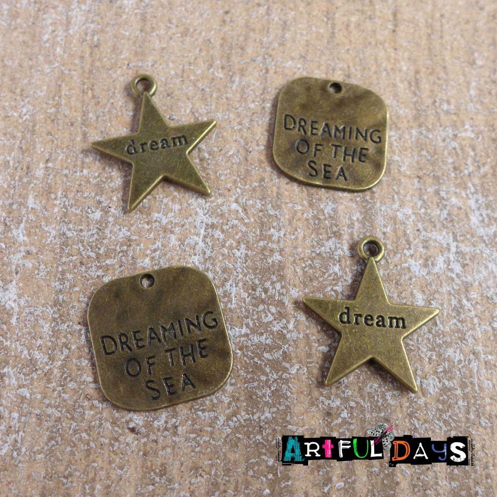 Mini Bronze Filigrees(C148)