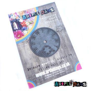 Treasured Artefacts - Distress Iron Clock Face (TA237)