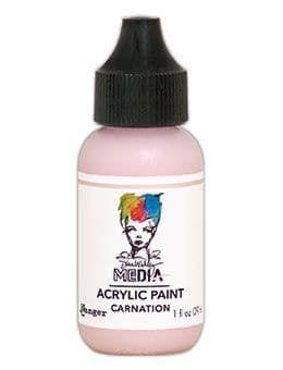 Dina Wakley Media Acrylic Paints 1oz - Carnation