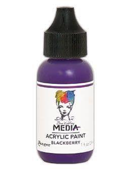 Dina Wakley Media Acrylic Paints 1oz - Blackberry