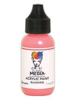 Dina Wakley Media Acrylic Paints 1oz - Blushing