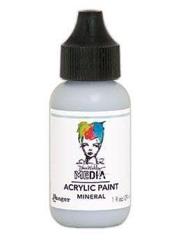 Dina Wakley Metallic Media Acrylic Paints 1oz - Mineral