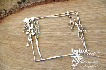 Boho Love - Rectangle Frame (5137)