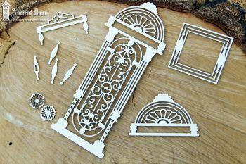Ancient Door Openwork 01(5686)