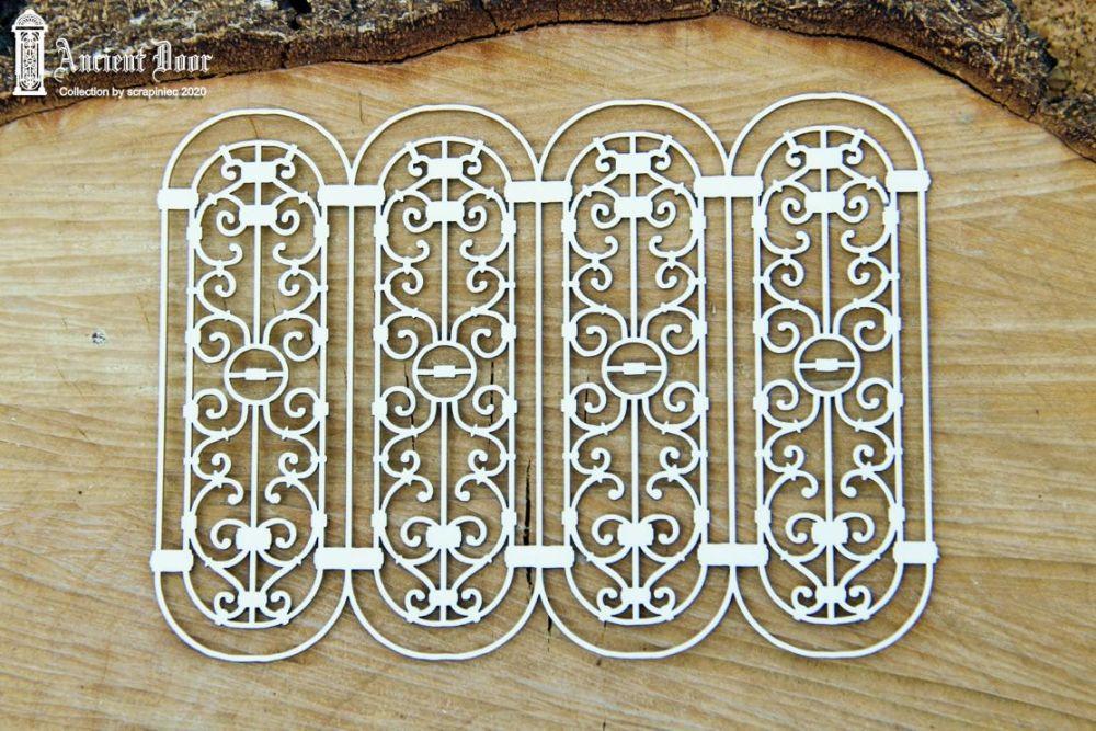 Ancient Door Openwork 03(5687)